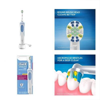 Oral-B Vitality FlossAction Rechargeable Battery Electric Toothbrush With Brush