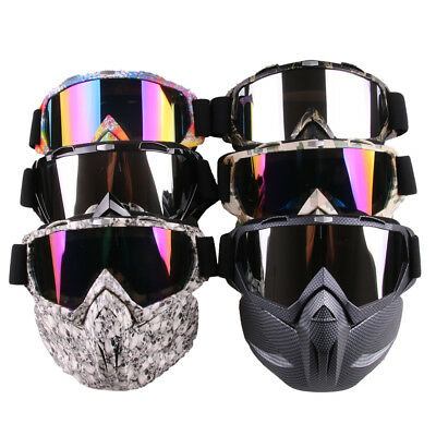 Tactical Mask Goggle Soft Bullet Dart Protective Mirror Face Mask for Nerf