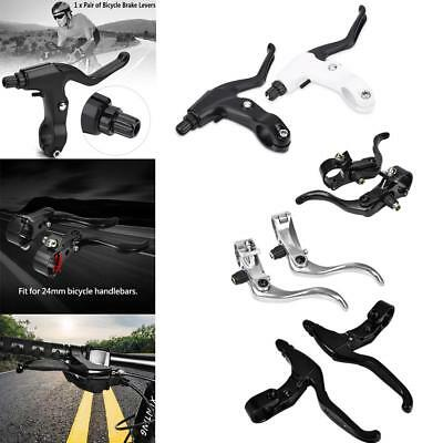 1 Pair Hand Brake Lever Set For Bicycle Mountain Bike Aluminium Alloy 3 Types GL