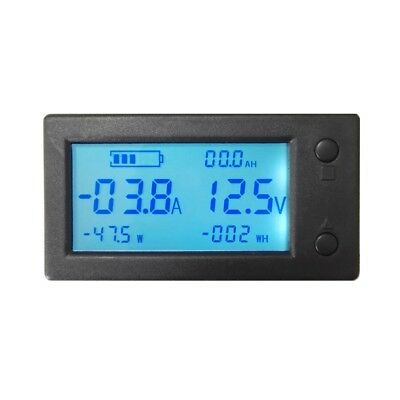 DC Voltmeter Ammeter Current Meter With Hall Sensor 6in1 300V 100A Easy Install
