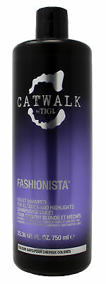 Tigi Catwalk Fashionista Violet Shampoo 25.36 Ounces