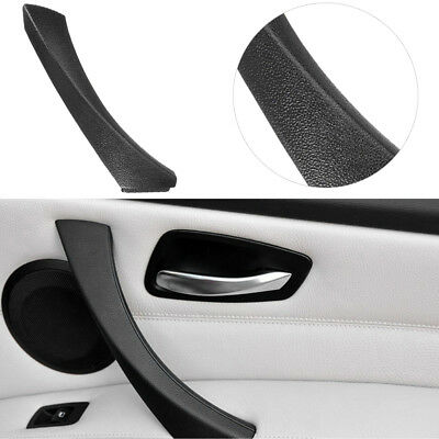 Right Side Inner Door Panel Handle Pull Trim Cover for BMW E90 E91 Vehicle Black