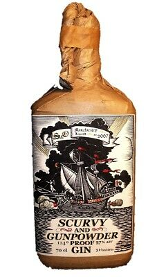 Smoke and Oakum's Scurvy & Gunpowder Proof Gin 700ml