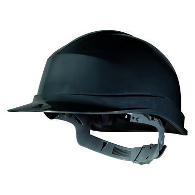 Delta Plus ZIRCON I Black Safety Helmet Hard Hat Insulated PPE Work Wear