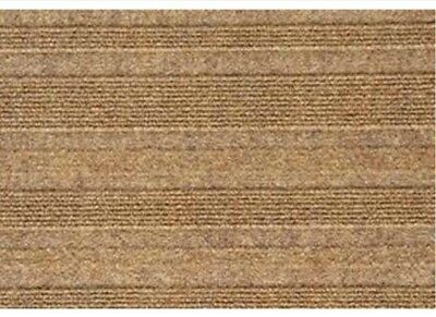New Beige Modern Linear Design Carpet Tiles ~  41 Boxes Available