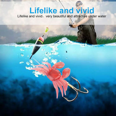 5x Savage Gear Saltwater 3D Manic Crab Lures Bass Cod Sea Fishing Tackle Tool ZY