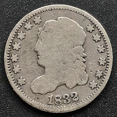 1832 Capped Bust Half Dime 5c nice coin #6203
