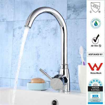 TAPCET 2018 Hot&Cold Brass Chrome Tap Faucet Kitchen Bathroom Water Mixer
