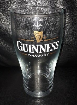 Rare Collectable Guinness Draught 568Ml Pint Beer Glass Brand New Never Used