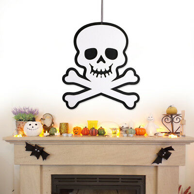 Halloween Non-Woven Hanging Ghost Skull Haunted House Hanging Decoration