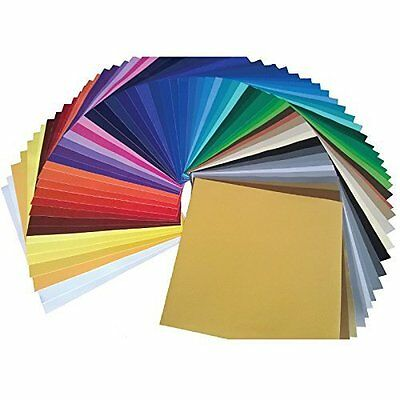 "Ultimate Oracal 651 Starter Pack 63 Glossy Self Adhesive Vinyl Sheets (12"" X"