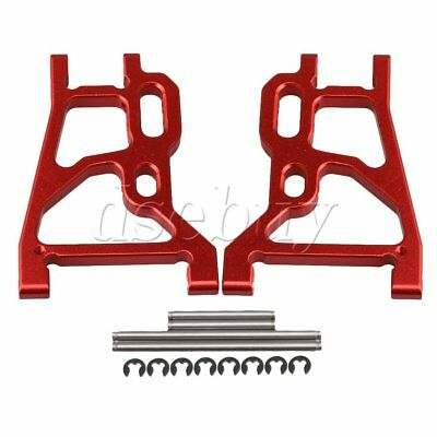 2pcs Red RC1:10 Aluminum Alloy Upgard Rear Lower Suspension Arm for FS Buggy