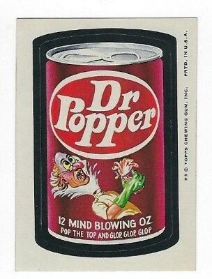 1974 Topps Wacky Packages 8th Series 8 DR. POPPER nm