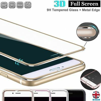 3D Full Curved Tempered Glass Screen Protector Apple iPhone 6 6s 7 8 plus