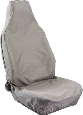 HD WATERPROOF SINGLE GREY SEAT COVER for BMW 3 SERIES SALOON (12-ON)