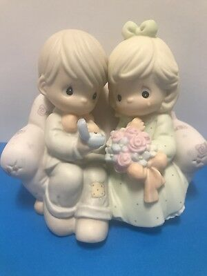 Precious Moments Figurine SAY I DO Man Proposing With Ring box included #261149