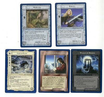 MECCG The Wizards Unlimited Uncommon Cards middle earth metw lord rings ccg tcg
