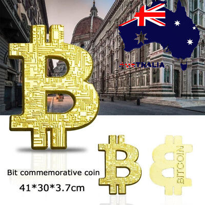 10X 3D Hollow Gold Plated Coin Collectible Gift BTC Coin Art Commemorative Coin