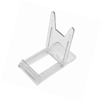 Two Part Adjustable Clear Acrylic Plastic Display Stand Easel Set Of 40 Enchanting Adjustable Acrylic Display Stands