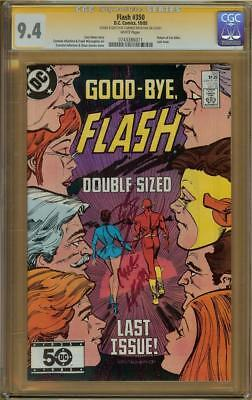 Flash #350 CGC 9.4 Signature Series Signed CARMINE INFANTINO w/Sketch
