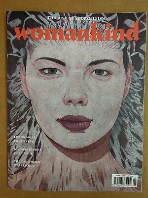 WOMANKIND MAGAZINE ISSUE #16 MAY 18 - JULY 18 - The Rise of Ecofeminism