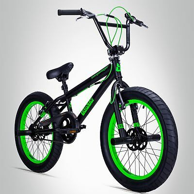 20 Zoll BMX Bergsteiger Tokyo Fat Bike 360°-Rotor-System Freestyle inkl. Pegs