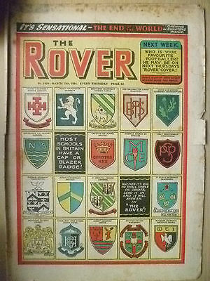 Comic- THE ROVER, NO. 1498, 13th March 1954