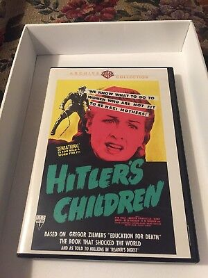 Hitlers Children (DVD, 2015) 1943 WB Archive Collection