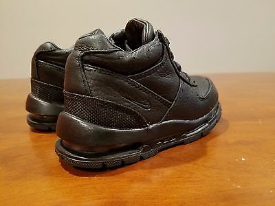 d35d22210a Nike Air Max Goadome Toddler ACG Black Leather Boots 311569-001 Size 8C  Unisex