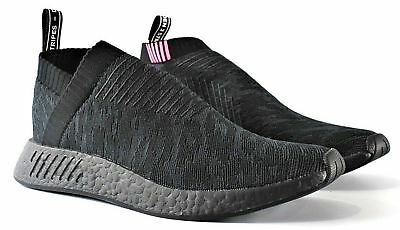 db377b1325d Sz 11 - Adidas Nmd Cs2 Primeknit Boost Shoes Core Black Pink Nmd Cs2 Pk  Cq2373