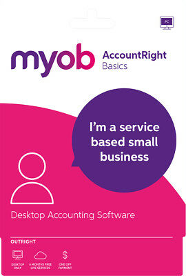 New MYOB - AccountRight Basics - Outright - Windows - Digital Delivery