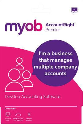 New MYOB - AccountRight Premier - Outright -Windows - Digital Delivery