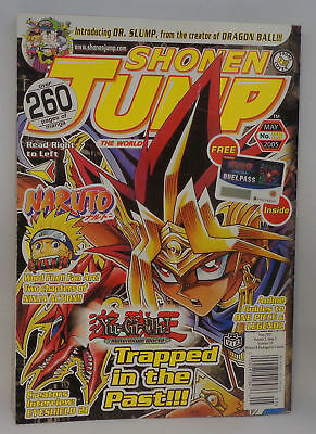 Shonen Jump NARUTO Mag Vol 3 Iss 5 2005 w/sealed YU-GI-OH Online Duel Pass
