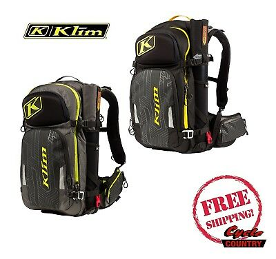 Klim 2019 Krew Pak Gear Tool Bag Snowmobile Mx Atv Back Pack W Hydration Storage