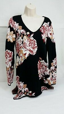 $79.5  INC International Concepts Printed Belted Sweater Tunic Leopard S
