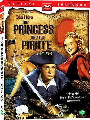 The Princess and the Pirate - Bob Brand new and Sealed Region 2 Compatible DVD