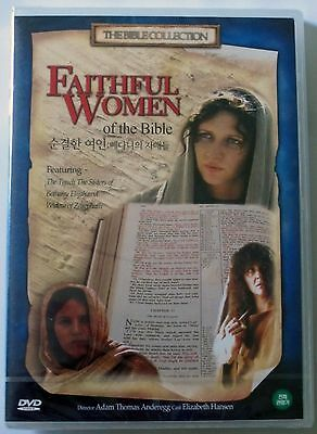 Faithful Women Of The Bible - Brand New Sealed Brand UK Region 2 Compatible DVD