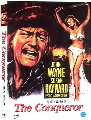 THE CONQUEROR - (UK seller!!!) John Wayne New and Sealed Region 2 Compatible DVD