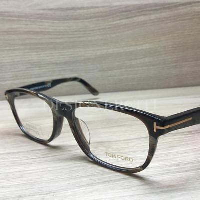 566c6bb6f84c2 TOM FORD TF 5430-F 5430 F Eyeglasses Brown Horn 062 Authentic 56mm ...