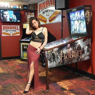 The HOBBIT LE LIMITED EDITION Pinball Machine RADCAL INVISIGLASS EXTRAS