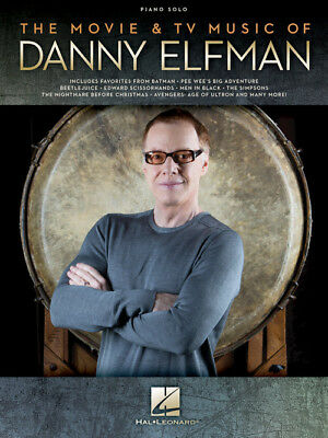 The Movie & TV Music of Danny Elfman - Piano Solo Songbook 194360