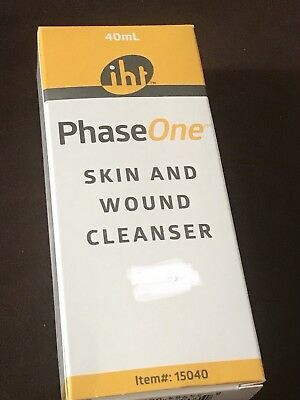 Phase One Skin and Wound Cleaner, 40ml Bottle, New