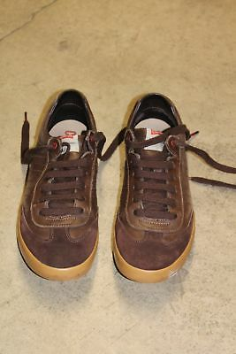 dbb07f7577aba Mens-Camper-Dark-Brown-Leather-Sneakers-Shoes-Size.jpg