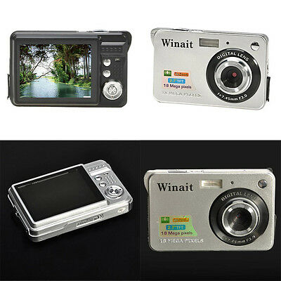 Mini 18MP Pixels 7xZoom CMOS 2.7 inch TFT LCD Screen HD 720P Digital Home Camera