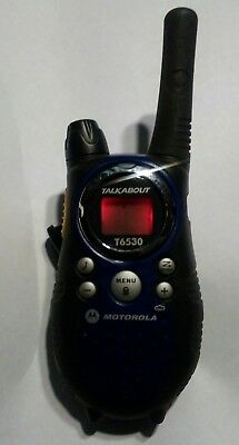 motorola talkabout t6530 single 10 mile 22 channel frs gmrs two way rh picclick com Instruction Manual Book Operators Manual