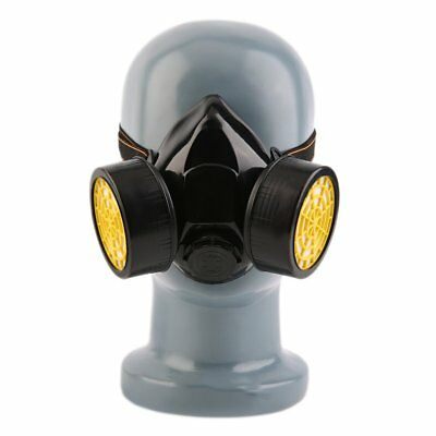 Emergency Survival Safety Respiratory Gas Mask With 2 Dual Protection Filter ND