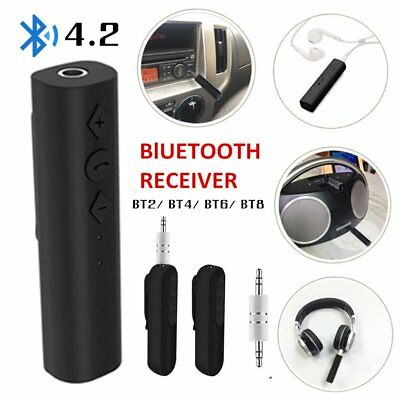 3.5MM Jack Bluetooth Transmitter Receiver Wireless Car Audio Music Adapter LOT