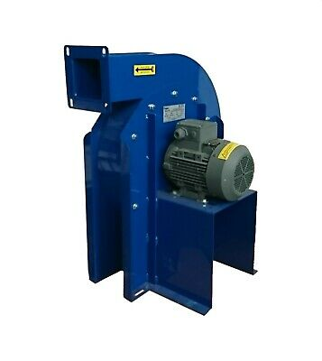 High Quality Laser / Fume Extraction Blower 400v high pressure 0.75KW 1000m3/hr