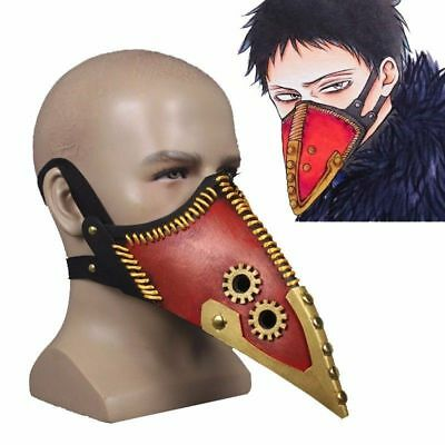 Anime My Hero Academia Overhaul 3D Half Face Mask Kai Chisaki Mask Cosplay Prop