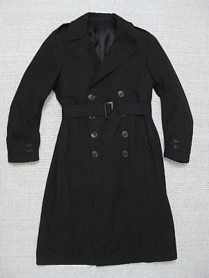 Us Navy Ww2 Usn Officer's Bridge Coat With Liner